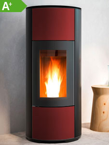 Pelletofen MCZ HALO Air 8 kW Bordeaux