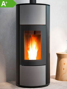 Pelletofen MCZ HALO Air UP Aluminium