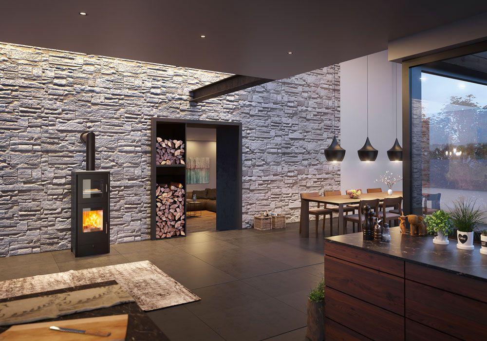 kaminofen rika back. Black Bedroom Furniture Sets. Home Design Ideas